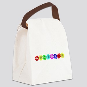 agnostic01 Canvas Lunch Bag