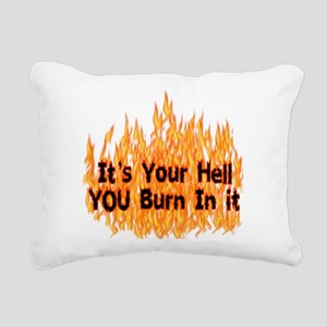 hell01 Rectangular Canvas Pillow