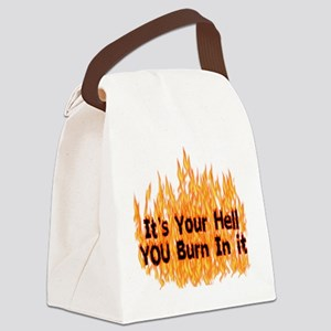 hell01 Canvas Lunch Bag