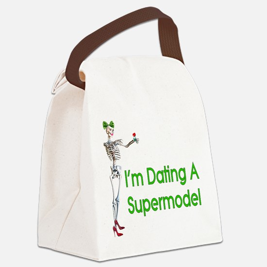 supermodel01.png Canvas Lunch Bag