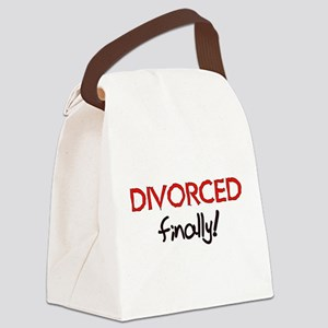 2-divorced01 Canvas Lunch Bag