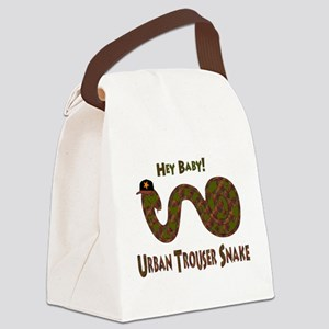 trouser_snake01 Canvas Lunch Bag