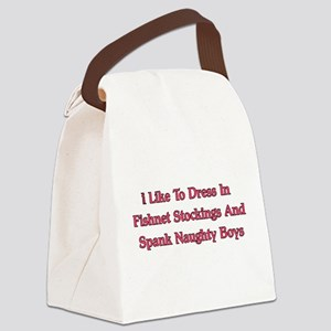 naughty01a Canvas Lunch Bag