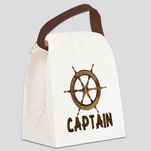 boating_captain01 Canvas Lunch Bag