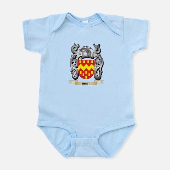 Bret Family Crest - Bret Coat of Arms Body Suit