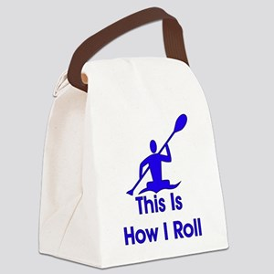kayaking01 Canvas Lunch Bag