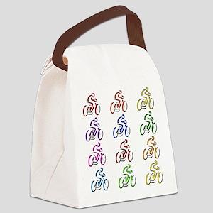 bikers01 Canvas Lunch Bag