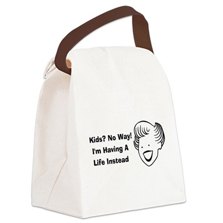 child_free_by_choice01 Canvas Lunch Bag