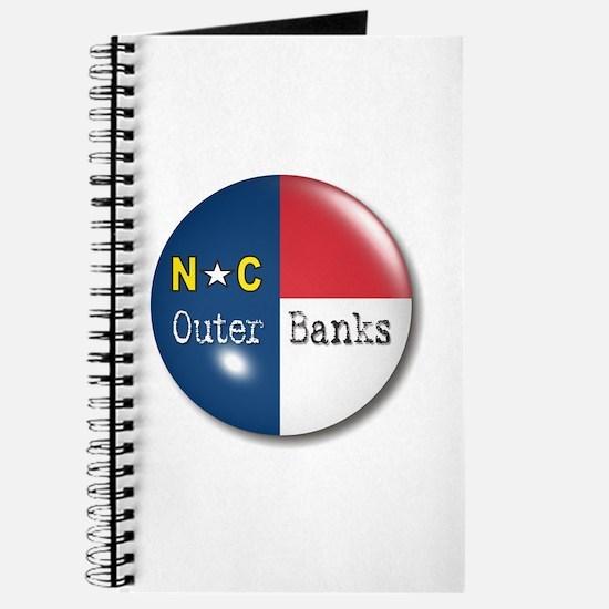 Outer Banks North Carolina Flag Journal