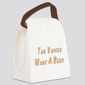 beer_voices01 Canvas Lunch Bag