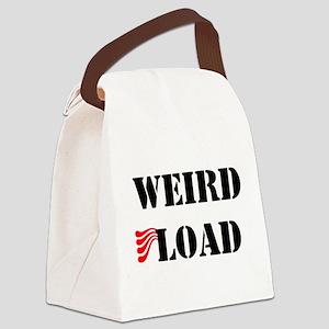weird01a Canvas Lunch Bag