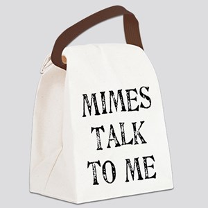 mimes01a Canvas Lunch Bag