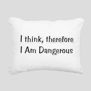 dangerous01x Rectangular Canvas Pillow