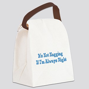 nagging01 Canvas Lunch Bag