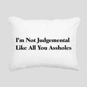 a1_judgement01 Rectangular Canvas Pillow