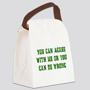 agree01 Canvas Lunch Bag