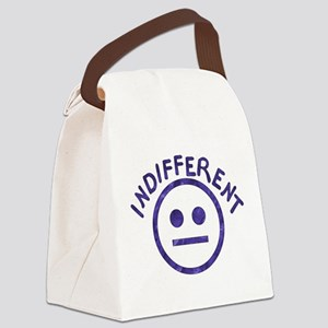 indifferent01b Canvas Lunch Bag