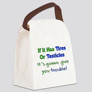 testicles01 Canvas Lunch Bag