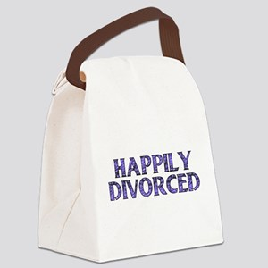 divorced01 Canvas Lunch Bag