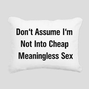 a_cheapsex01x Rectangular Canvas Pillow