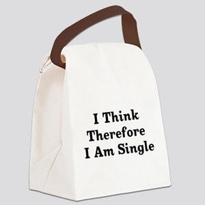 thinksingle01x Canvas Lunch Bag