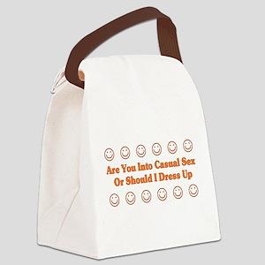 casualsex01a Canvas Lunch Bag