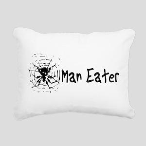 2_maneater01b Rectangular Canvas Pillow
