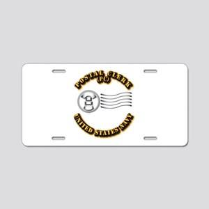 Navy - Rate - PC Aluminum License Plate