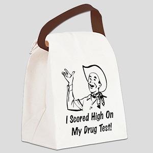 drug_humor01 Canvas Lunch Bag
