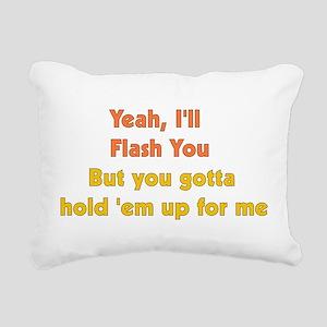 flash01 Rectangular Canvas Pillow