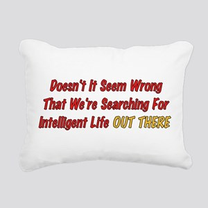 wrong01 Rectangular Canvas Pillow