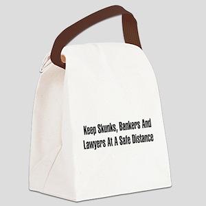 skunks01 Canvas Lunch Bag