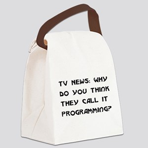programming01 Canvas Lunch Bag