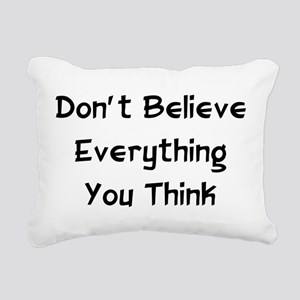 1_believe01 Rectangular Canvas Pillow
