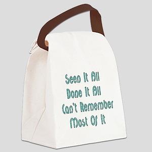 seenitall01a Canvas Lunch Bag