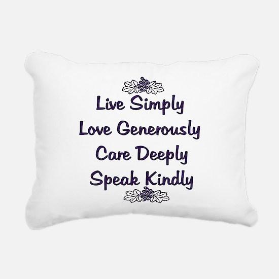 love01b.png Rectangular Canvas Pillow