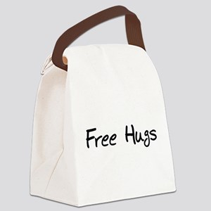 hugs01a Canvas Lunch Bag