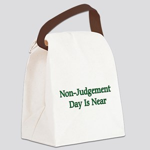 nonjudgement01a Canvas Lunch Bag