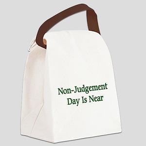 nonjudgement01a Canvas Lunch Bag
