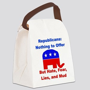 gop_losers01 Canvas Lunch Bag