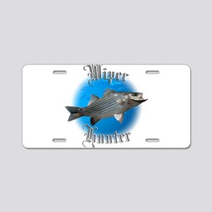 Wiper Hunter Aluminum License Plate