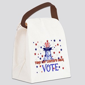 vote_election2008_03 Canvas Lunch Bag