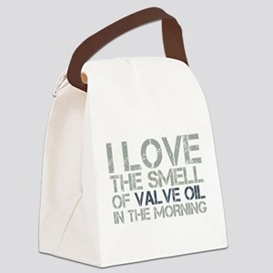 Valve Oil Canvas Lunch Bag