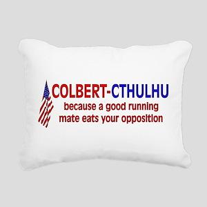 stephen_colbert01 Rectangular Canvas Pillow