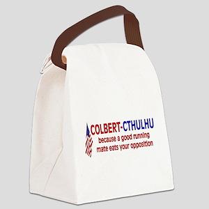 stephen_colbert01 Canvas Lunch Bag