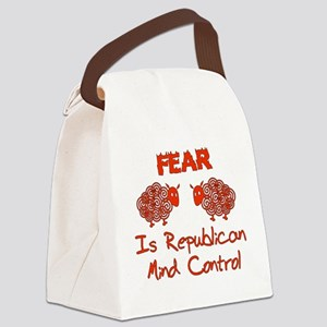gop_fear01 Canvas Lunch Bag