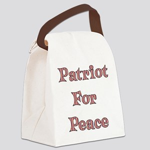 antiwar02 Canvas Lunch Bag