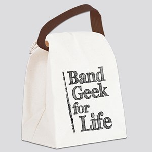Flute Band Geek Canvas Lunch Bag