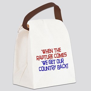 rapture01 Canvas Lunch Bag