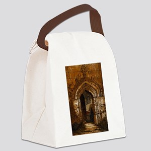 castle01 Canvas Lunch Bag